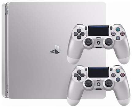 Игровая приставка Sony PlayStation 4 Slim 500Gb DualShock 4 Silver