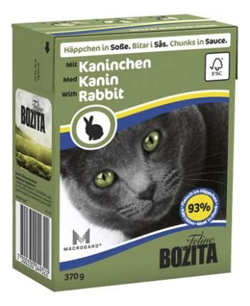 Влажный корм для кошек BOZITA Feline, кролик, 370г