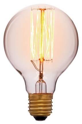 Лампа накаливания E27 40W шар золотой 051-972а