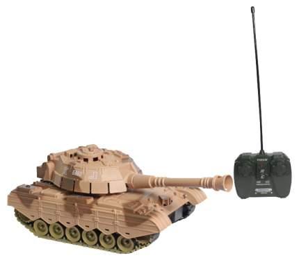 Радиоуправляемый танк 1 TOY Взвод свет звук