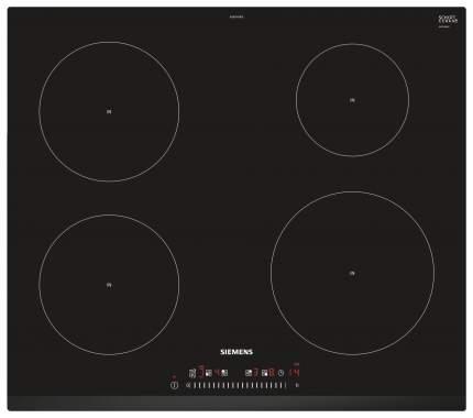 Встраиваемая варочная панель индукционная Siemens EU631FEB1E Black