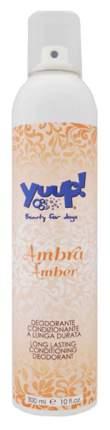 Дезодорант для шерсти Yuup Professional! Янтарь со сладким и пряным ароматом, 300 мл