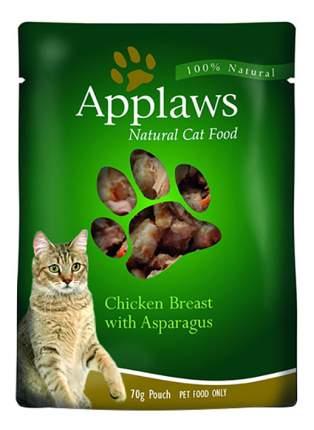 Влажный корм для кошек Applaws, курица, спаржа, 70г