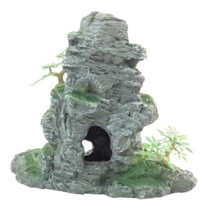 Грот для аквариума Laguna Скала пирамидальная 042KD, полиэфирная смола, 23х11х20,8 см