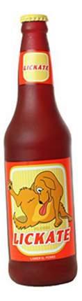 Пищалка для собак Silly Squeakers, винил, бутылка пива 7x26см