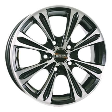 Колесные диски Tech-Line R15 5.5J PCD4x100 ET46 D54.1 (T52655155414x10046BD)