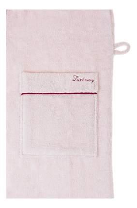 Халат банный Luxberry Basic розовая пудра/бордовый (L)
