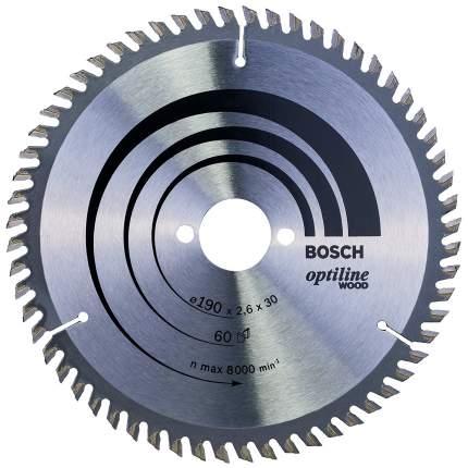 Диск по дереву Bosch STD WO 190x30-60T 2608641188