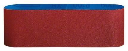 Шлифовальная лента для ленточной шлифмашины Bosch 100x620мм K80 2608606153