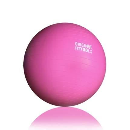 Гимнастический мяч Original Fit.Tools FT-GBR розовый 55 см
