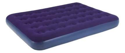 Надувная кровать Relax Flocked air bed DOUBLE синий