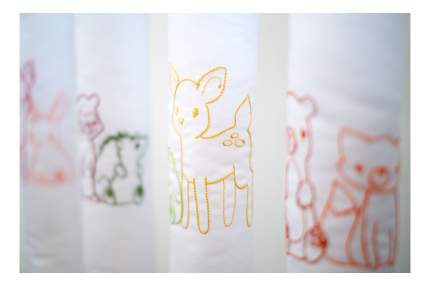 Текстильный бортик для кроватки Cloud factory Forest Friends, 12 шт CF-1-FF