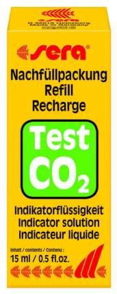 Индикаторная жидкость для теста Sera СО2 (углекислый газ), 15 мл