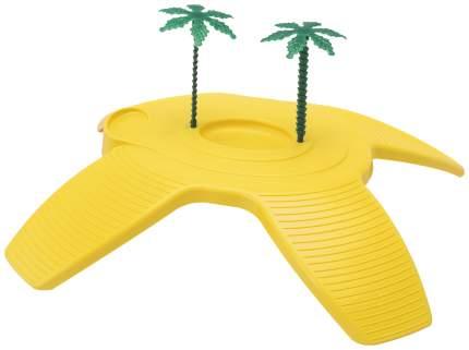 Декорация для террариума Turtle Beach остров желтый