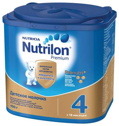 Молочная смесь 3 Nutrilon 4 Premium c 18 мес 400 г
