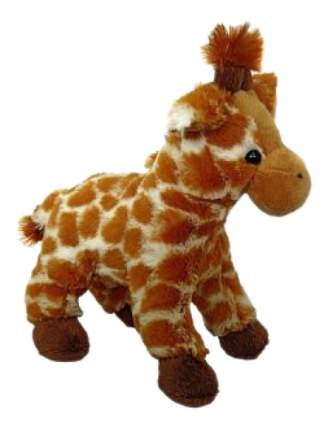 Мягкая игрушка Fluffy Family Жираф 18 см 681434