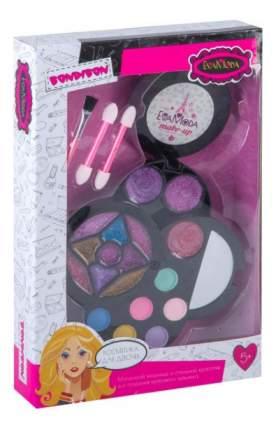 Набор детской косметики Eva Moda круглая косметичка с зеркалом Bondibon BB2257