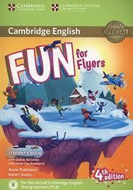 Fun for Flyers 4Ed SB + Online Activities + Audio + Home Fun Booklet