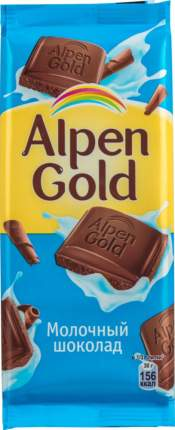 Шоколад молочный Alpen Gold 90 г