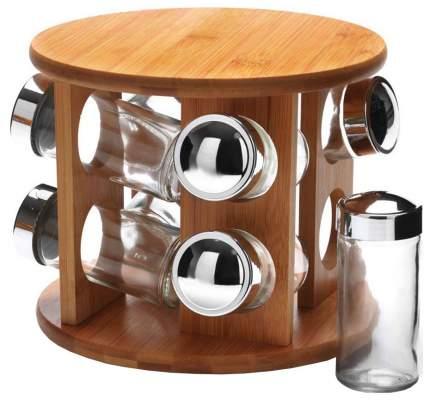 Набор для специй Bekker MB-27350 Серебристый, прозрачный, коричневый