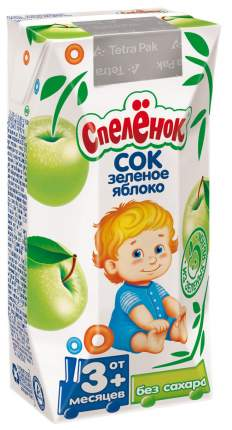 Сок Спелёнок Яблоко с 3 мес 200 мл