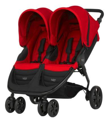 Прогулочная коляска для двойни Britax B-Agile Double Flame Red 2000023162