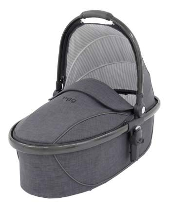 Люлька Egg Carrycot Quantum Grey & Gun Metal Frame