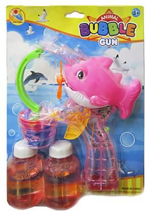 Мыльные пузыри Shenzhen toys Пистолет Рыбка розовый К56050
