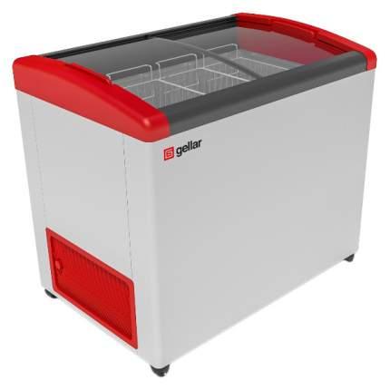 Морозильный ларь Gellar FG 350 E White/Red