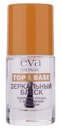Закрепитель лака для ногтей Eva Mosaic Зеркальное сияние, 10 мл
