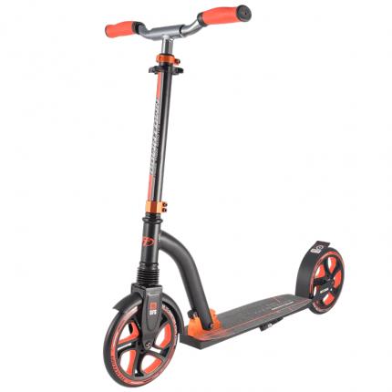 Самокат Tech Team Downtown черно-оранжевый