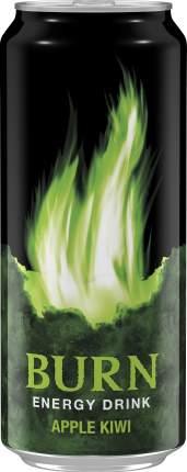 Напиток энергетический Burn яблоко-киви жестяная банка 0.5 л