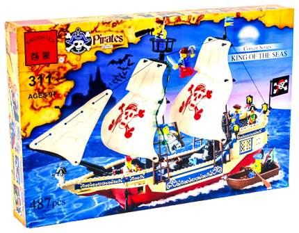 Конструктор Brick Пиратский корабль 487 элементов BRICK311