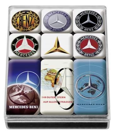 Набор магнитов Mercedes-Benz Set of Magnets, Classic, артикул B66041558