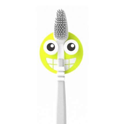 Держатель для зубной щётки Emoji зеленый