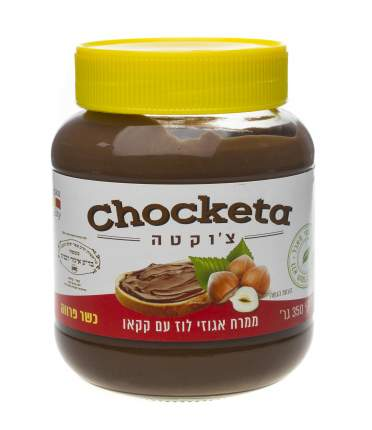 Шоколадно-ореховая паста Choketa с фундуком парве 350 г