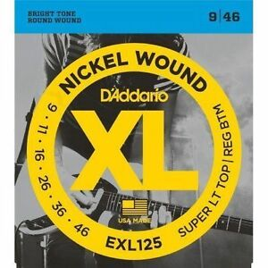Струны для электрогитары D ADDARIO EXL125
