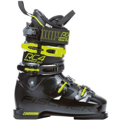 Горнолыжные ботинки Fischer RC4 Curv 120 Vacuum Full Fit 2019, black/yellow, 30.5