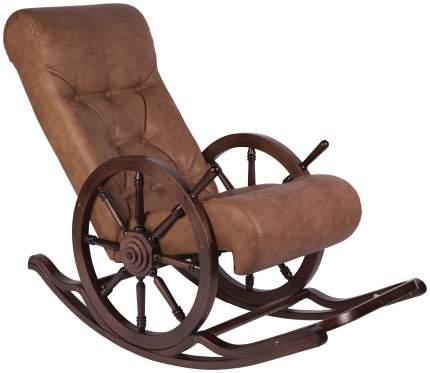 Кресло-качалка Мебелик Тенария 4 2066, коричневый
