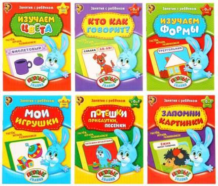 Комплект из 6 книг первые Знания - Занятия С Ребенком От 0 до 1 Года Забияка