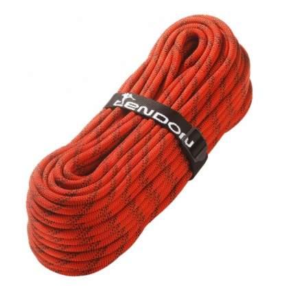 Веревка полустатическая Tendon Static 11 мм, красная, 1 м
