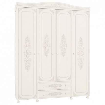 Платяной шкаф Компасс-мебель Ассоль АС-28 KOM_AC28 173,2x56,6x222,5, белое дерево