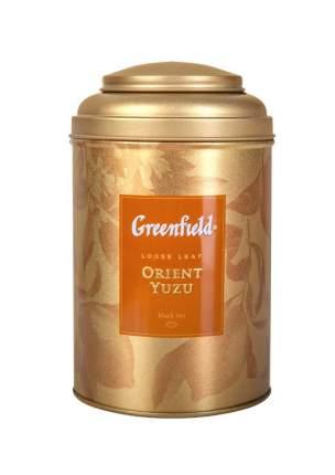 Чай черный Greenfield Orient Yuzu листовой в жестяной банке 100 г