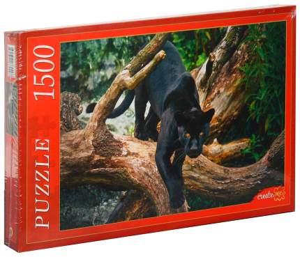 Рыжий кот Пазлы черная пантера 1500 элементов Рыжий кот ги1500-8449