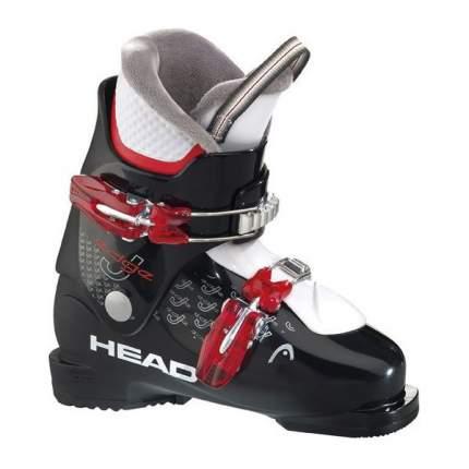 Горнолыжные ботинки Head Edge J2 2015, black/red/white, 21.5