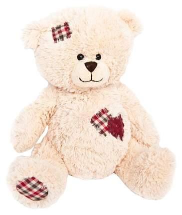 Мягкая игрушка MAXITOYS TS-A6305-25A Мишка Лука с Заплатками и Сердцем 22 см