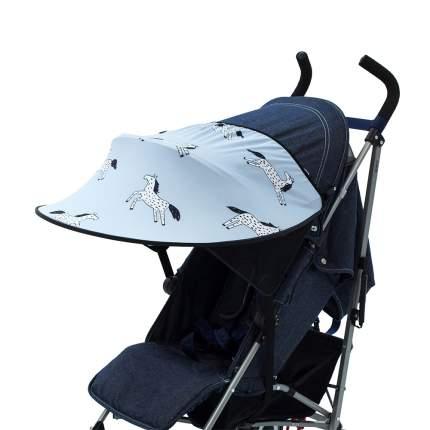 Козырек от солнца на коляску LEOKID Blue Magic Horse