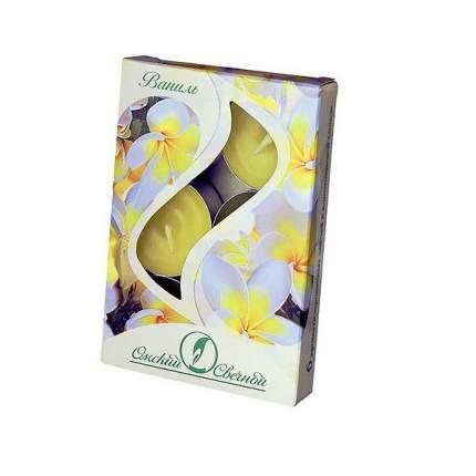 Ароматические свечи Омский Свечной ваниль 3,8х1,6 см 001810-свеча