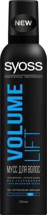 Мусс для волос Syoss Volume Lift Объем экстрасильная фиксация 250 мл