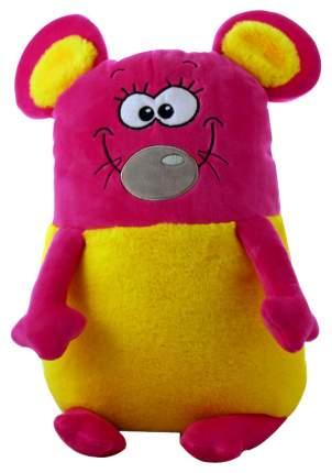 "Мягкая игрушка ""Мягкие зверята"" - Розовая мышь, 50 см KiddieArt"